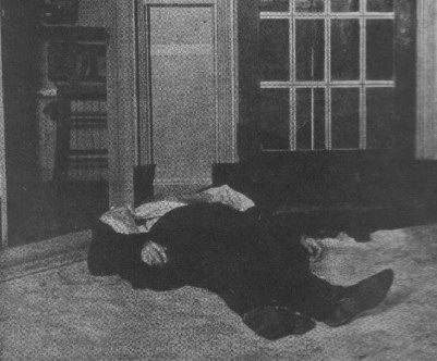 Jim Colosimo lying dead