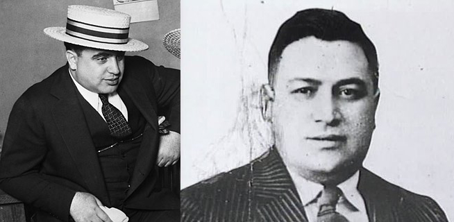 al capone and frankie yale
