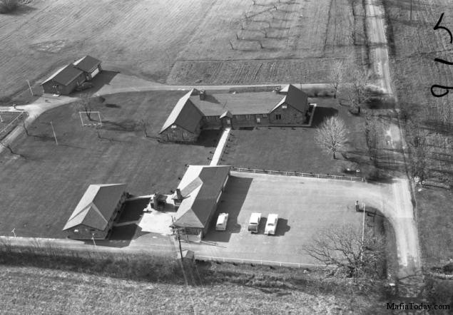 Arial View of Apalachin House
