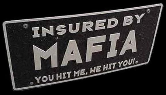 Mafia plate