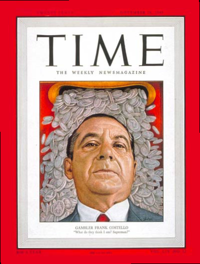 Frank Costello in TIME Magazine