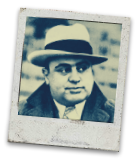On this day in 1899 Alphonse Gabriel Capone was born