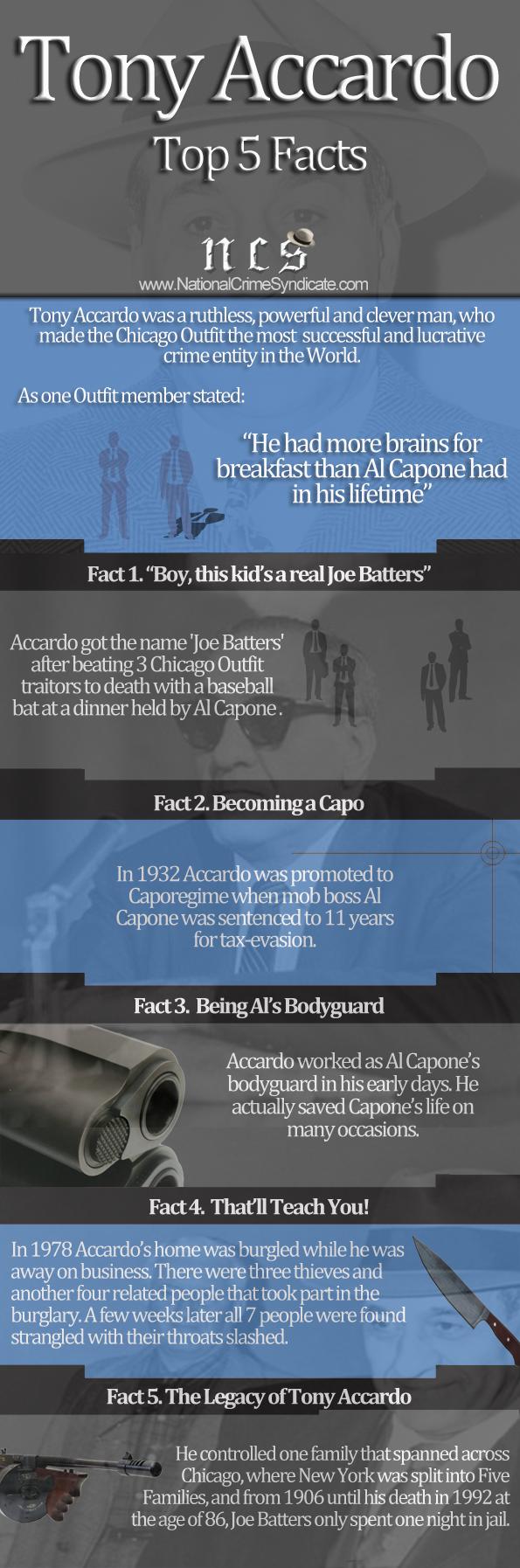 Tony Accardo Infographic