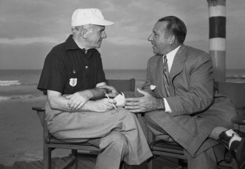 Walter Winchell Interviewing Frank Costello