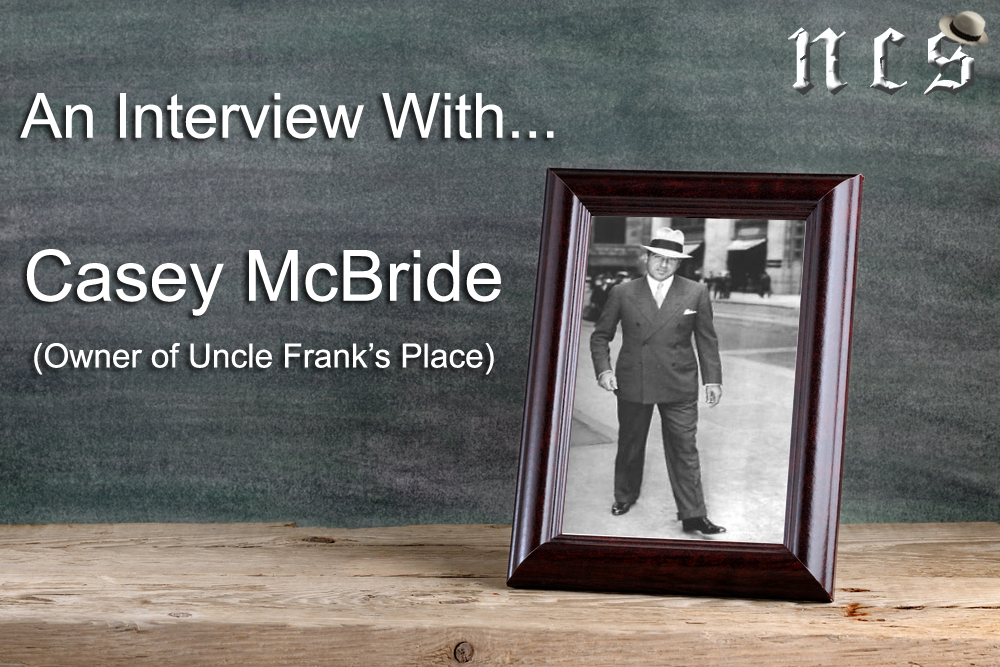 An Interview with Uncle Frank's Place, Casey McBride