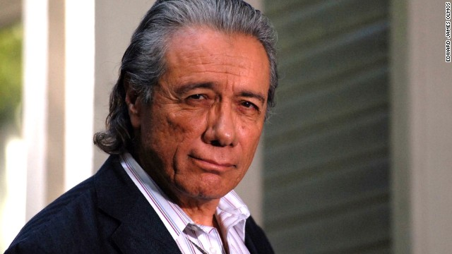 Edward James Olmos ran into trouble with The Mexican Mafia
