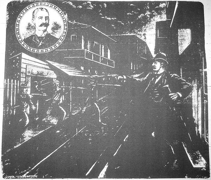 Scene Of The Hennessy Assassination