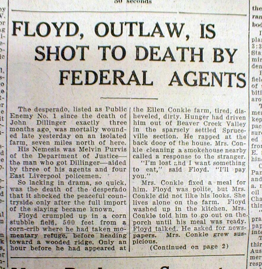 Pretty Boy Floyd Headlines