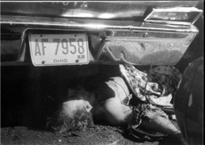 Danny Greene Under a car