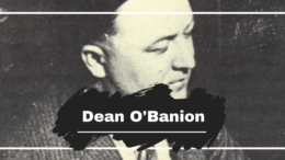Who Was Dean O'Banion & How Did He Get Killed