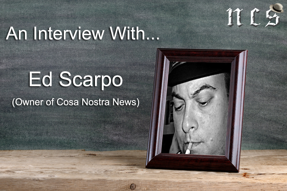 An Exclusive Interview with Journalist and Author Ed Scarpo