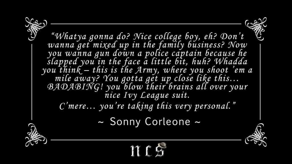 sonny corleone quote