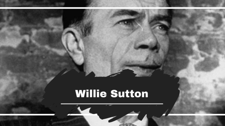 On This Day in 1980 Willie Sutton Died Aged 79