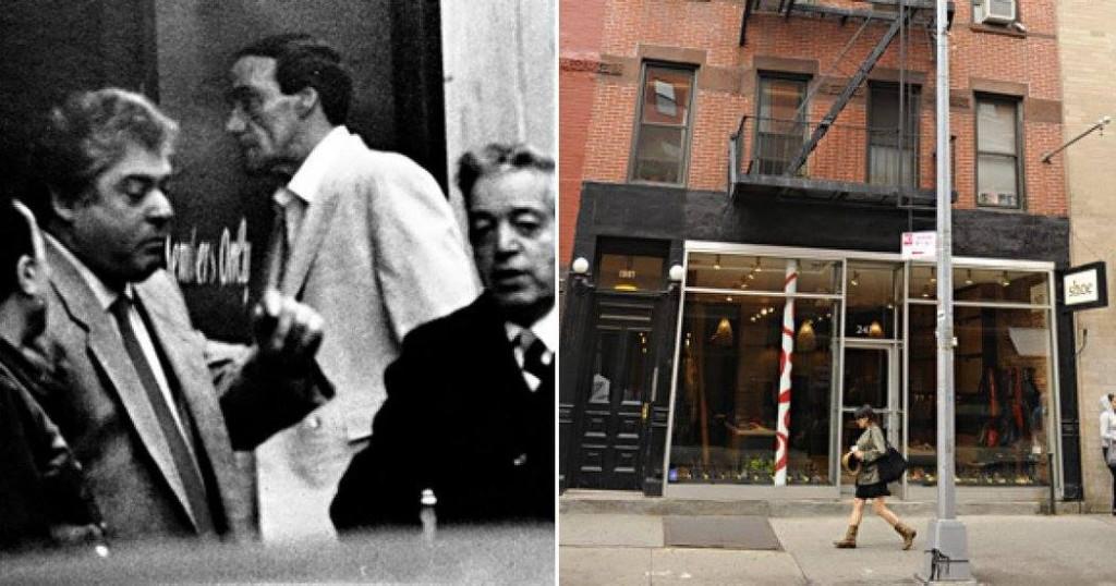The Ravenite Club: 247 Mulberry St., Manhattan.