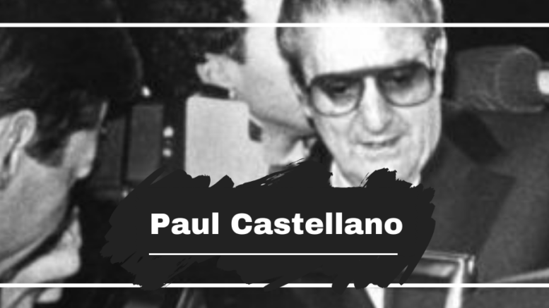 Paul Castellano Died On This Day in 1985, Aged 70