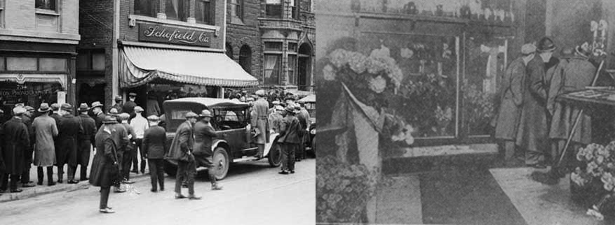 William F. Scholfield's Flower Shop: 738 North State Street, Chicago