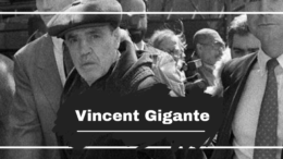 Vincent Gigante Died On This Day in 2005, Aged 77