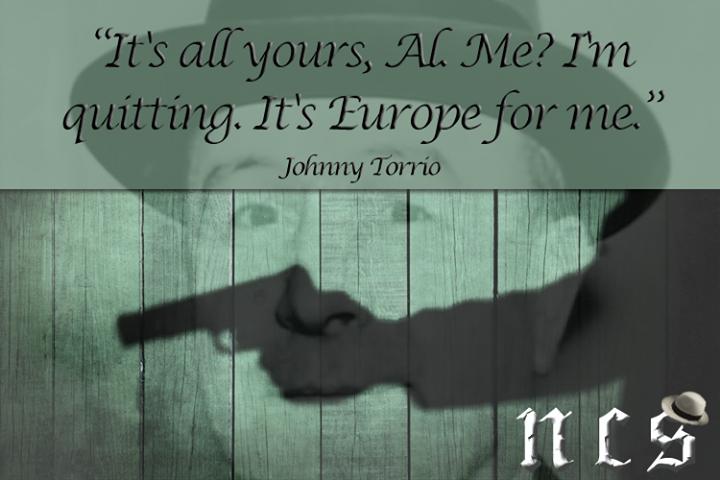 Johnny Torrio 1882 - 1957
