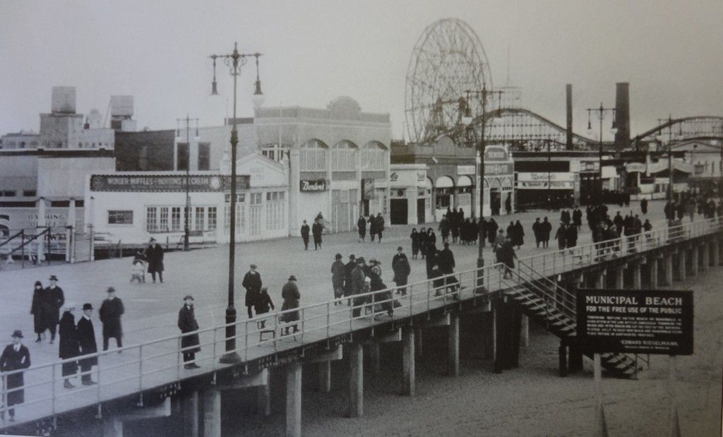 Coney Island Boardwalk - Near The Harvard Inn