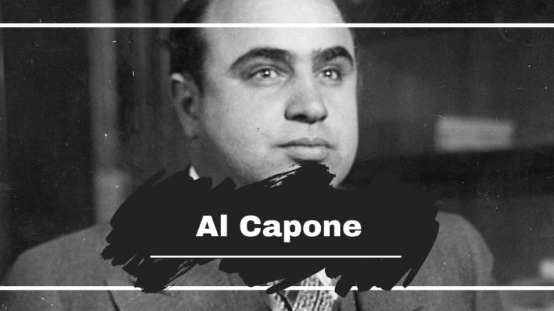 Al Capone Born On This Day in 1899