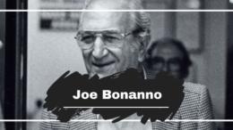 Joe Bonanno Born On This Day in 1905