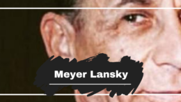 37 years ago, on this day in 1983 the mob's accountant Meyer Lansky died at the grand age of 80. Meyer had considerable influence and strength with the Italian-American Mafia helping to develop it's gambling empire and being the brains behind many of its decisions. In the late 1950's, after the rise of Fidel Castro when Lansky fled Cuba it is said that he was worth an estimated $20 million (equivalent to $193 million in 2019). Read more: http://thencs.org/1Q7HQro