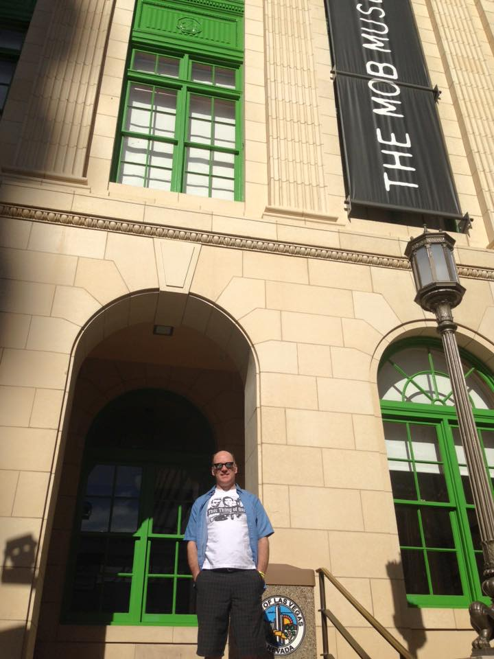 Casey at The Mob Museum