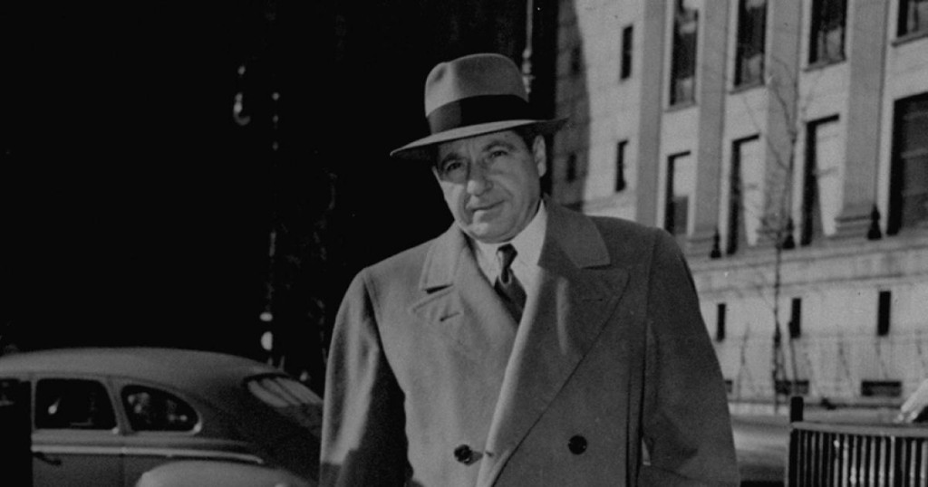 On This Day in 1891 Frank Costello was Born: He Also Died On This Day in 1973