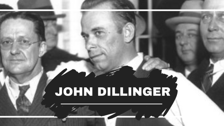 John Dillinger Born On This Day in 1903