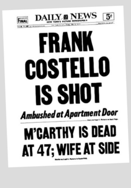 Daily News: Costello Shot!