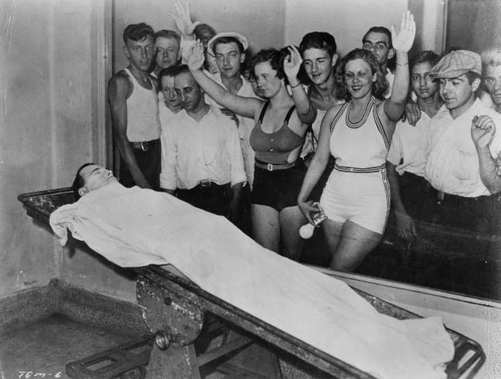 The body of John Dillinger