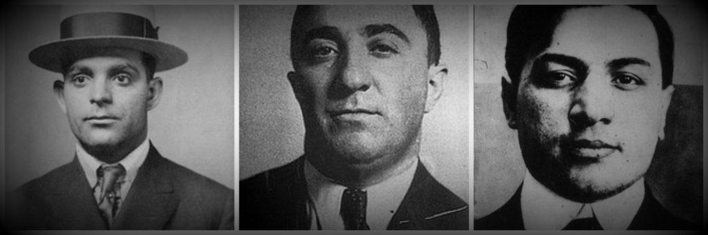 Joe Aiello, Louis Campagna & Frankie Yale