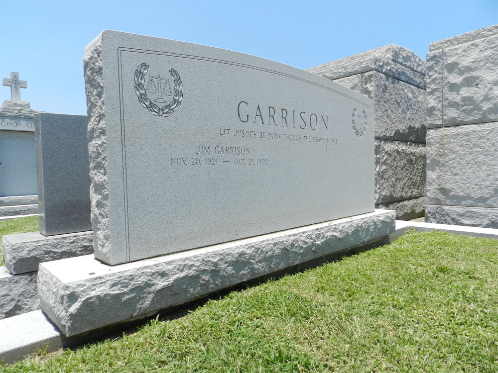 Jim Garrison Burial