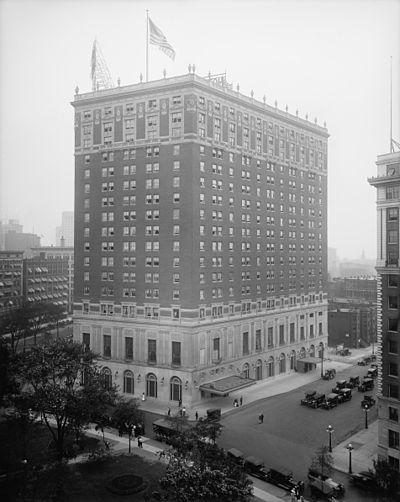 Statler Hotel in Cleveland