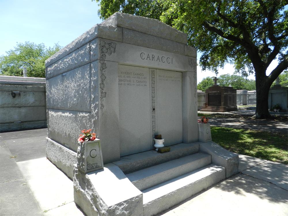 Frank Caracci Burial