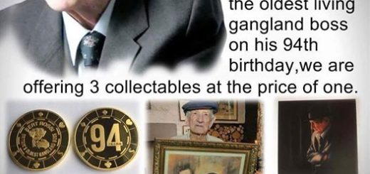 Bert Rossi 94th Birthday Limited Edition Collectables