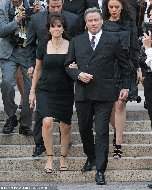 Spotted: John Travolta on Set as John Gotti