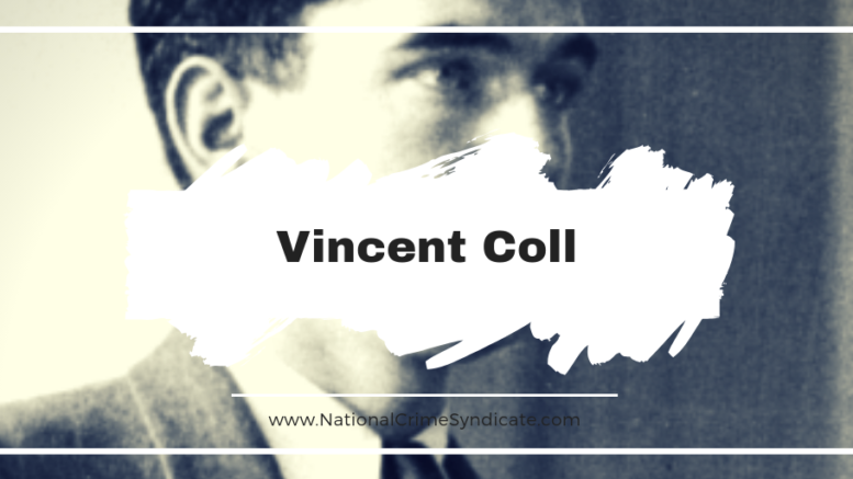 Vincent Coll Died On This Day in 1932, Aged 23