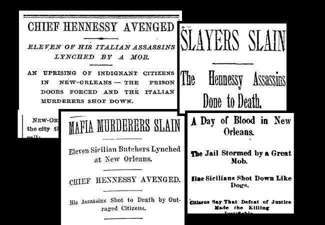 1891 lynching headlines