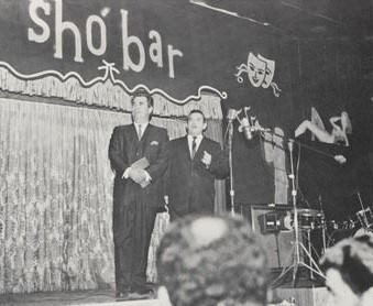 Bob Harrington onstage