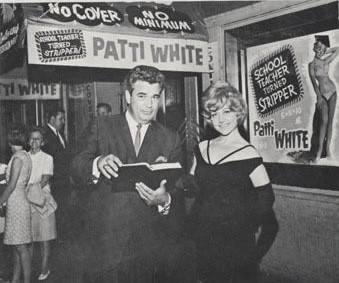 Harrington and stripper Patti White