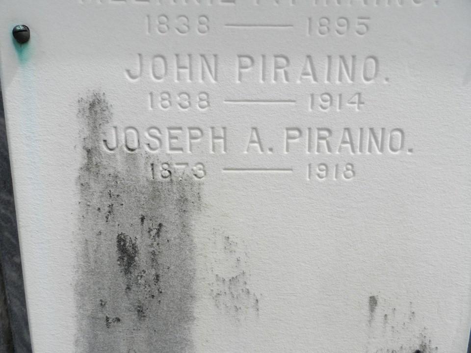 Joseph Piraino mystery tomb