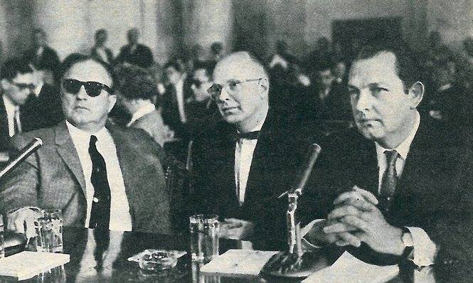 McClellan hearings 1959 brother Vincent Marcello to right of pic