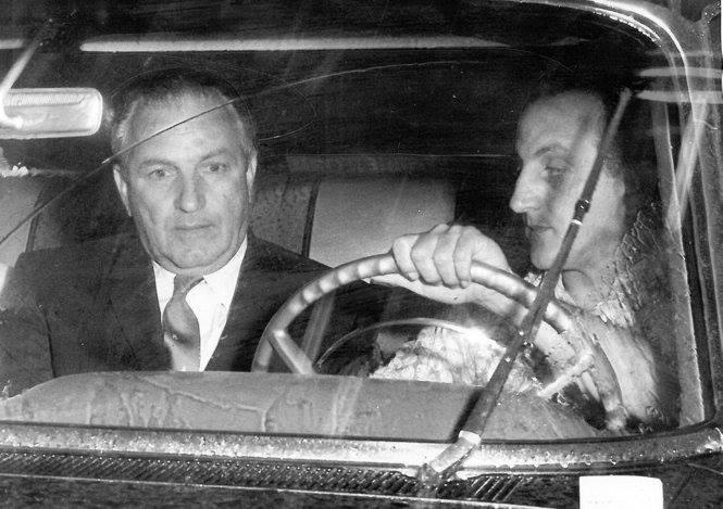 Sammy Marcello driving Carlos