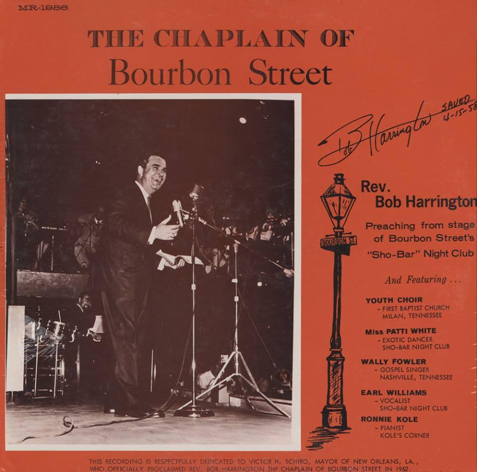 Sho Bar sermon on vinyl