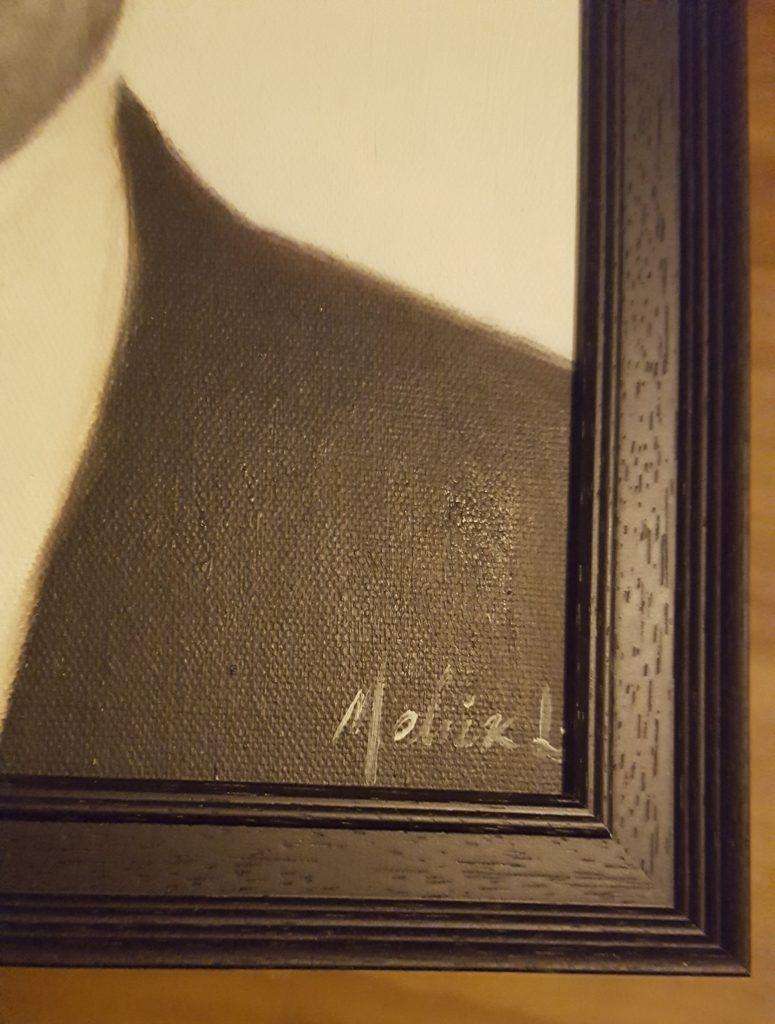 John Dillinger Oil Painting