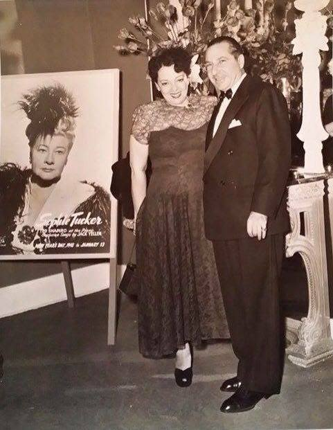 Frank Costello and wife Bobby at his Beverly Country Club in Jefferson Louisiana 1940's