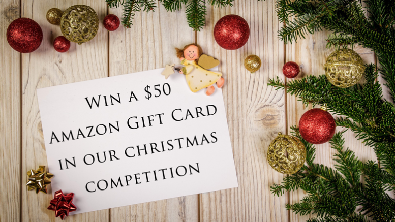 The NCS Christmas Prize Draw - $50 Amazon Gift Card | The NCS