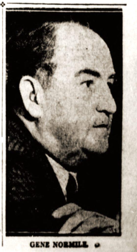 Gene Normile, Manager, Agua Caliente Race Track, Tijuana, MX, 1937