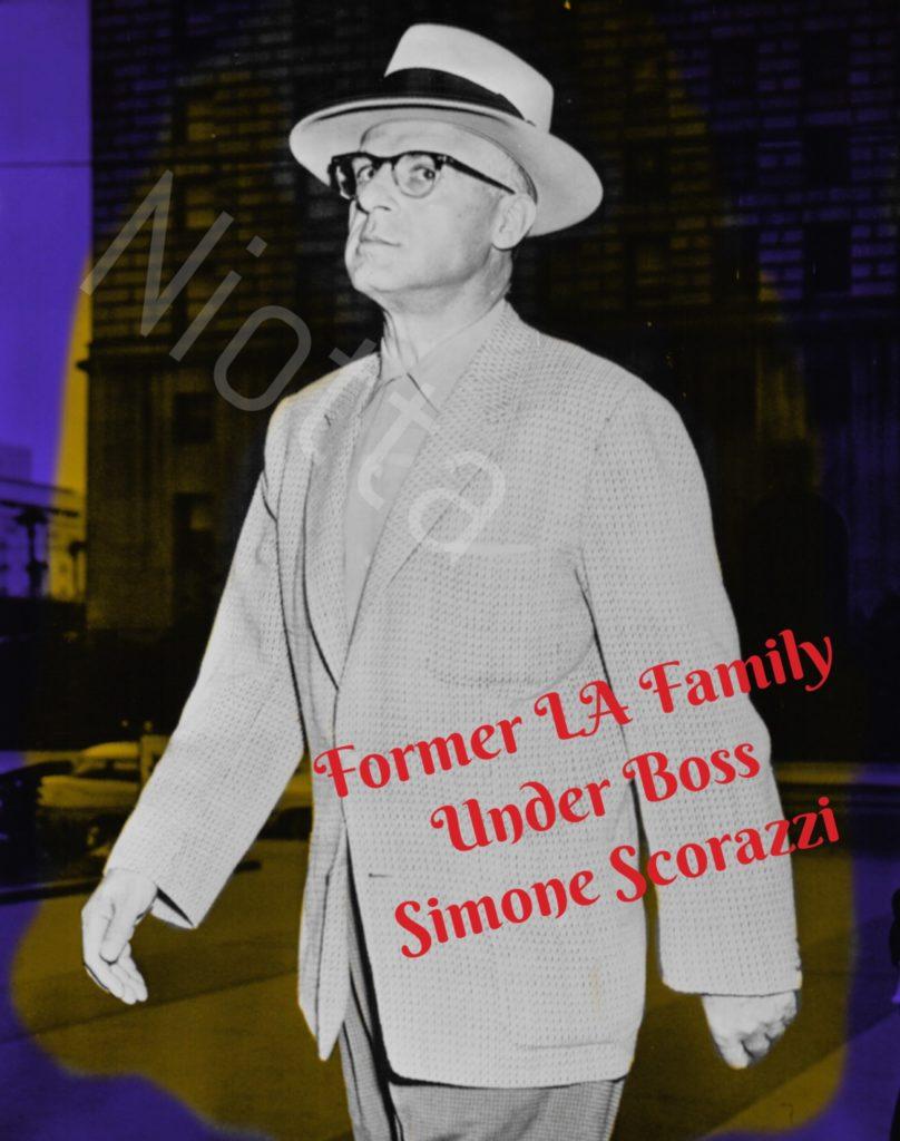 Simone Scorazzi, Los Angeles, 1959. Author's personal collection.